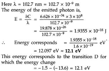 Important Questions for Class 12 Physics Chapter 12 Atoms Class 12 Important Questions 41
