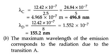 Important Questions for Class 12 Physics Chapter 12 Atoms Class 12 Important Questions 47