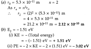 Important Questions for Class 12 Physics Chapter 12 Atoms Class 12 Important Questions 66