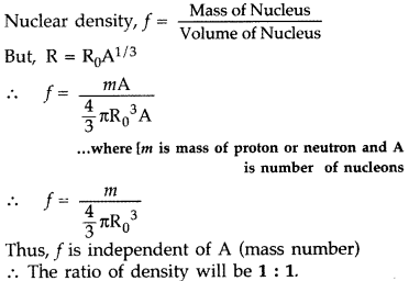 Important Questions for Class 12 Physics Chapter 13 Nuclei Class 12 Important Questions 3