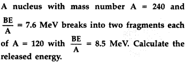 Important Questions for Class 12 Physics Chapter 13 Nuclei Class 12 Important Questions 32
