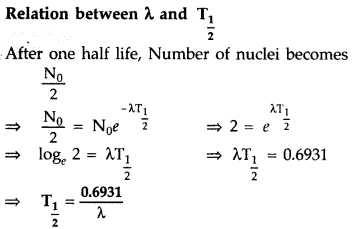 Important Questions for Class 12 Physics Chapter 13 Nuclei Class 12 Important Questions 36