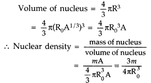 Important Questions for Class 12 Physics Chapter 13 Nuclei Class 12 Important Questions 47