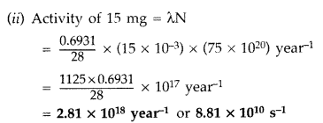 Important Questions for Class 12 Physics Chapter 13 Nuclei Class 12 Important Questions 63