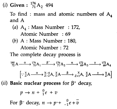 Important Questions for Class 12 Physics Chapter 13 Nuclei Class 12 Important Questions 77