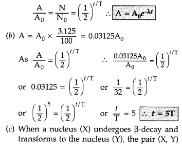Important Questions for Class 12 Physics Chapter 13 Nuclei Class 12 Important Questions 79