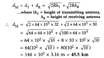 Important Questions for Class 12 Physics Chapter 15 Communication Systems Class 12 Important Questions 52