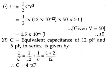 Important Questions for Class 12 Physics Chapter 2 Electrostatic Potential and Capacitance Class 12 Important Questions 106