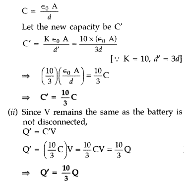 Important Questions for Class 12 Physics Chapter 2 Electrostatic Potential and Capacitance Class 12 Important Questions 124