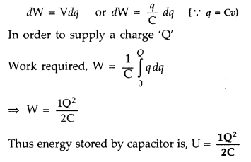 Important Questions for Class 12 Physics Chapter 2 Electrostatic Potential and Capacitance Class 12 Important Questions 130