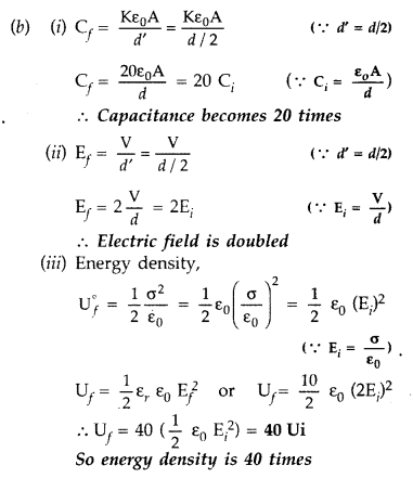 Important Questions for Class 12 Physics Chapter 2 Electrostatic Potential and Capacitance Class 12 Important Questions 131