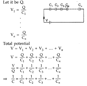 Important Questions for Class 12 Physics Chapter 2 Electrostatic Potential and Capacitance Class 12 Important Questions 158