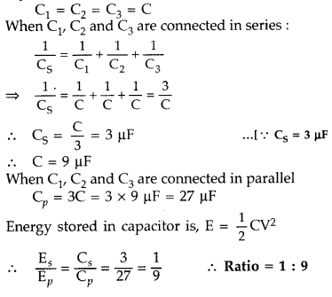 Important Questions for Class 12 Physics Chapter 2 Electrostatic Potential and Capacitance Class 12 Important Questions 27