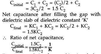 Important Questions for Class 12 Physics Chapter 2 Electrostatic Potential and Capacitance Class 12 Important Questions 94