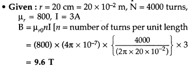 Important Questions for Class 12 Physics Chapter 4 Moving Charges and Magnetism Class 12 Important Questions 145