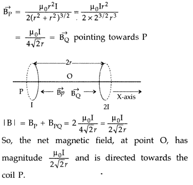 Important Questions for Class 12 Physics Chapter 4 Moving Charges and Magnetism Class 12 Important Questions 26