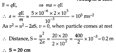 Important Questions for Class 12 Physics Chapter 4 Moving Charges and Magnetism Class 12 Important Questions 29