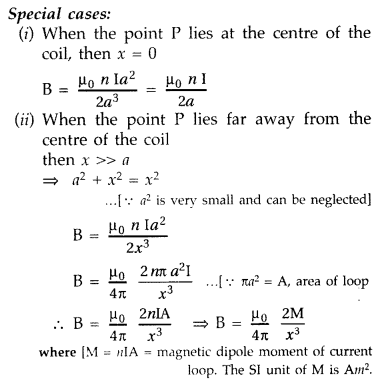 Important Questions for Class 12 Physics Chapter 4 Moving Charges and Magnetism Class 12 Important Questions 59