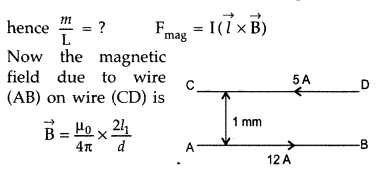 Important Questions for Class 12 Physics Chapter 4 Moving Charges and Magnetism Class 12 Important Questions 94