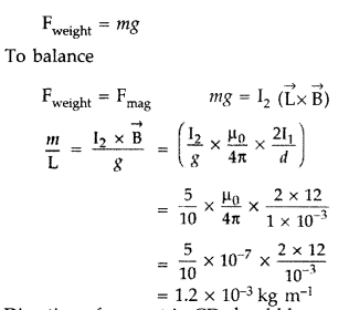 Important Questions for Class 12 Physics Chapter 4 Moving Charges and Magnetism Class 12 Important Questions 95