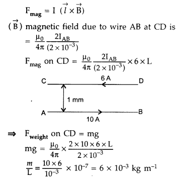 Important Questions for Class 12 Physics Chapter 4 Moving Charges and Magnetism Class 12 Important Questions 96