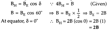 Important Questions for Class 12 Physics Chapter 5 Magnetism and Matter Class 12 Important Questions 2