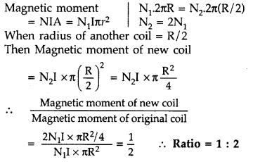 Important Questions for Class 12 Physics Chapter 5 Magnetism and Matter Class 12 Important Questions 9