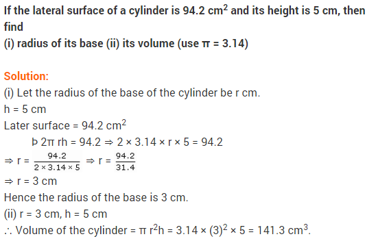 Maths NCERT Solutions Class 9 Chapter 13 Surface Areas and Volumes Ex 13.6 A4