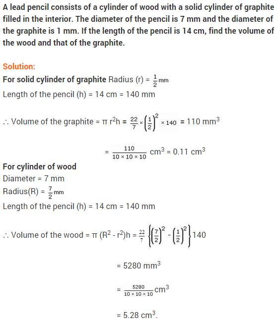 Maths NCERT Solutions Class 9 Chapter 13 Surface Areas and Volumes Ex 13.6 A7