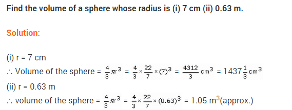 NCERT Class 9 Maths Solutions Chapter 13 Surface Areas and Volumes Ex 13.8 A1