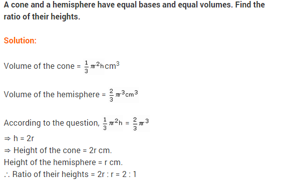 NCERT Class 9 Maths Solutions Chapter 13 Surface Areas and Volumes Ex 13.8 A13