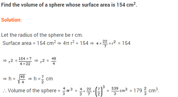 NCERT Class 9 Maths Solutions Chapter 13 Surface Areas and Volumes Ex 13.8 A7