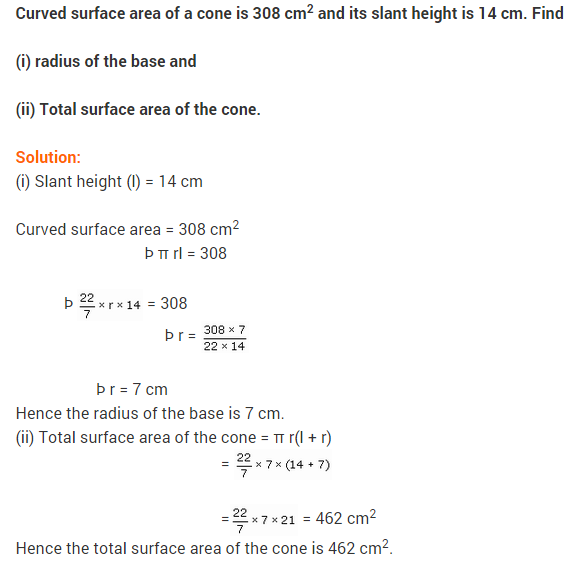 NCERT Solutions Class 9 Maths Chapter 13 Surface Areas and Volumes Ex 13.3 A5