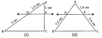 NCERT Solutions For Class 10 Maths Chapter 6 Triangles Ex 6.1 Q2
