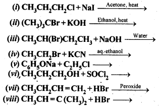 NCERT Solutions For Class 12 Chemistry Chapter 10 Haloalkanes and Haloarenes Exercises Q14
