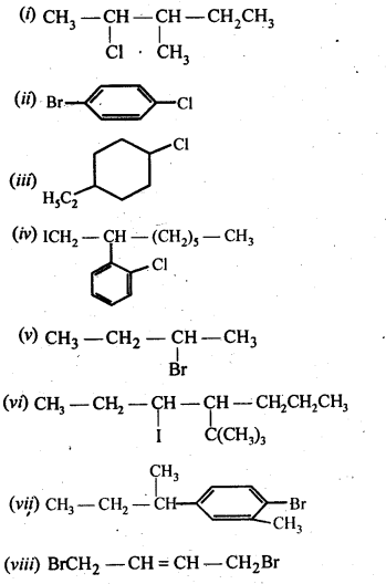 NCERT Solutions For Class 12 Chemistry Chapter 10 Haloalkanes and Haloarenes Exercises Q3