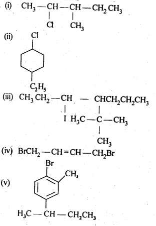 NCERT Solutions For Class 12 Chemistry Chapter 10 Haloalkanes and Haloarenes Intext Questions Q1