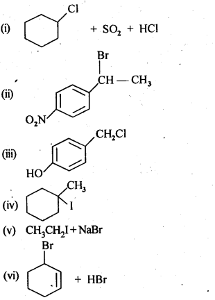 NCERT Solutions For Class 12 Chemistry Chapter 10 Haloalkanes and Haloarenes Intext Questions Q5.1