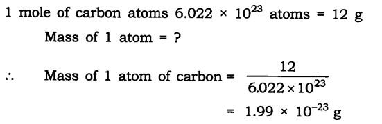 NCERT Solutions For Class 9 Science Chapter 3 Atoms and Molecules Intext Questions Page 42 Q1