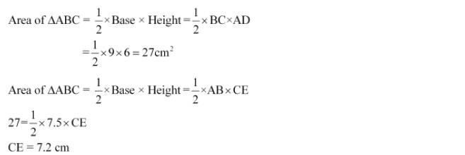 NCERT Solutions for Class 7 Maths Chapter 11 Perimeter and Area Ex 11.2 Q7