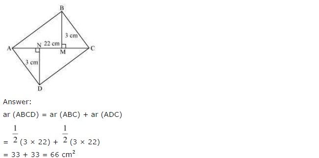 NCERT Solutions for Class 7 Maths Chapter 11 Perimeter and Area Ex 11.4 Q8