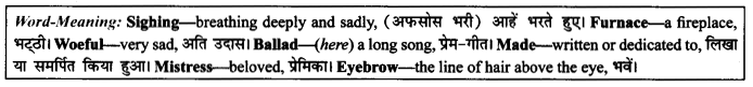 NCERT Solutions for Class 9 English Literature Chapter 10 The Seven Ages Paraphrase Q3