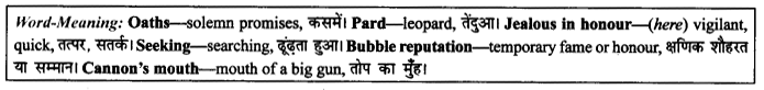 NCERT Solutions for Class 9 English Literature Chapter 10 The Seven Ages Paraphrase Q4