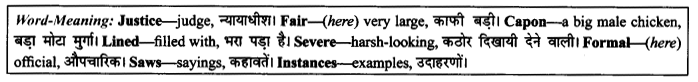 NCERT Solutions for Class 9 English Literature Chapter 10 The Seven Ages Paraphrase Q5