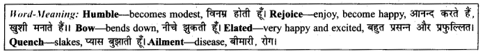 NCERT Solutions for Class 9 English Literature Chapter 12 Song of the Rain Paraphrase Q2