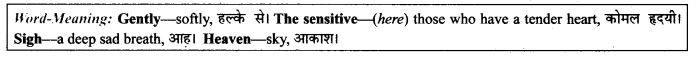 NCERT Solutions for Class 9 English Literature Chapter 12 Song of the Rain Paraphrase Q4
