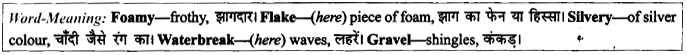NCERT Solutions for Class 9 English Literature Chapter 6 The Brook Para Phrase Q7