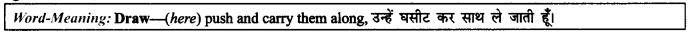 NCERT Solutions for Class 9 English Literature Chapter 6 The Brook Para Phrase Q8
