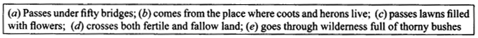 NCERT Solutions for Class 9 English Literature Chapter 6 The Brook Q5