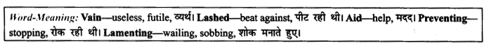 NCERT Solutions for Class 9 English Literature Chapter 9 Lord Ullins Daughter Paraphrase Q14